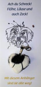 Zeckenschutz Anhänger für Hunde